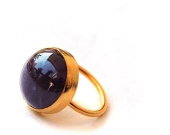 30% Fall Sale Round Amethyst Ring