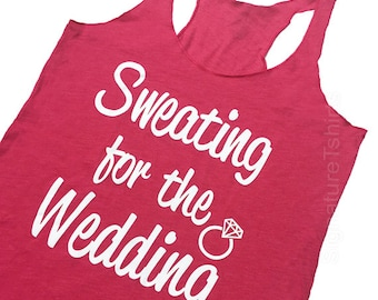 Gym Tank Workout Shirt Racerback Tank Workout Tank Work Out Clothes Running Sweating For The Wedding