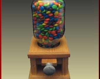 Candy Dispenser with Gray Marble Knob