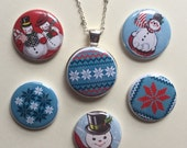 Winter Wonderland Magnetic Pendant set