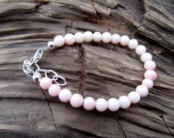 Blush baby bracelet