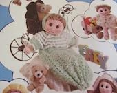 Doll Crocheting Patterns Sweet Cuddles Needlecraft Shop 971016 Crochet Pattern Leaflet