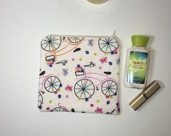 Medium Zipper Pouch, Makeup Bag, Cosmetic Bag, Travel Pouch, Project Pouch, Gift Idea