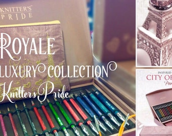 """Knitter's Pride Royale """"Luxury Collection"""" Interchangeable Knitting Needle Set"""