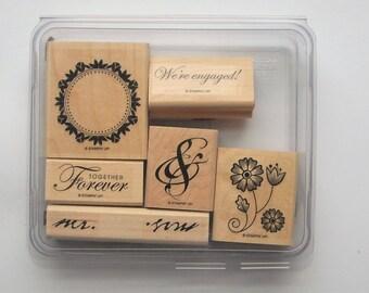 Stampin' Up! Together Forever Stamp Set (Set of 6)