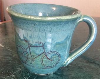 Bike made mug bike decal