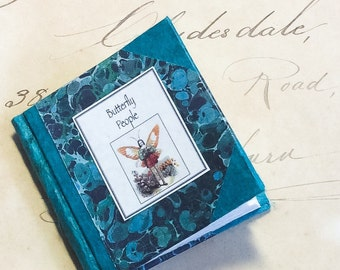 "Miniature book ""Butterfly People """