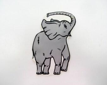 Vintage GOP elephant - ladies' rain bonnet