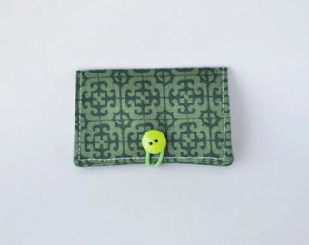 Fabric Business Card Holder Celtic
