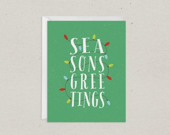 Christmas Card | Seasons Greetings