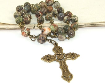 Anglican Prayer Beads - Christian Rosary - Man's Anglican Rosary