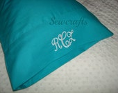 ON SALE Personalized Travel Pillow Baby PIllowcase with Flap to hold the pillow -Choose to fit 12in X 16in or 14 in X 20 in Pillow Insert