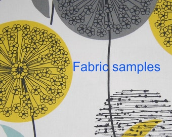 3 + fabric samples