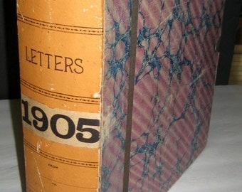 Antique (1905) Letter Correspondence File