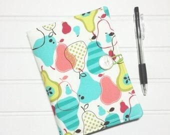 SUMMER SALE - Mini Shopper - Notepad holder List taker - Pears