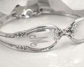 PERSONALIZED Bridesmaids Bracelets, Personalized Bridesmaid Gifts, Spoon Bracelets, Personalized Wedding Bracelets, Choose Quantity