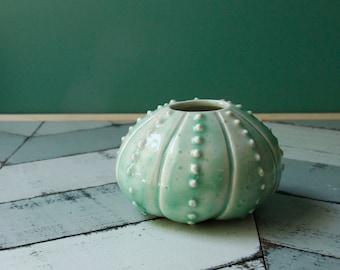 textured porcelain bud vase