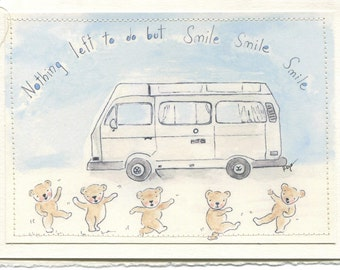 Westfalia Art Print Greeting Card