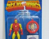Vintage Iron Man Secret Wars Marvel Super Heroes Figure MOC Never Opened on Card 1984 Ironman Action Figure Toy