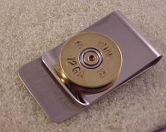 Bullet Money Clip Winchester 12 Gauge Shotgun Shell - Free Shipping to USA