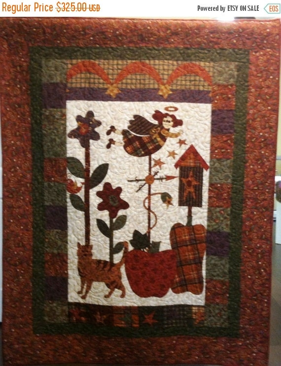 Festival Sale I Believe in Country Angels Art Quilt