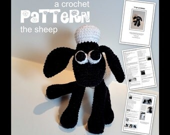 The Sheep a crochet pattern