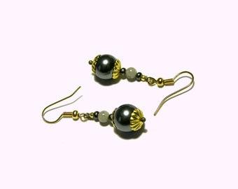 Swarovski Pearl Earrings, Gray Earrings, Grey Earrings, Pearl Earrings, Top Selling Jewelry, Popular Jewelry,  Beaded Earrings, Gift Ideas