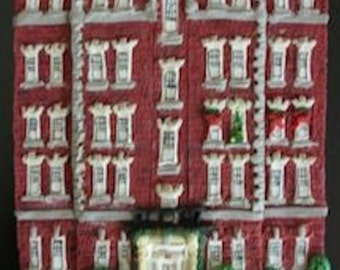 Custom House Ornament - Apartment Building, School, Office - Architectural and Landscape Detail