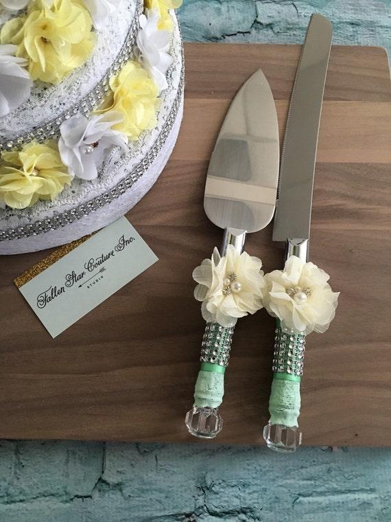 wedding cake knife set burlap knife set cake cutting set. Black Bedroom Furniture Sets. Home Design Ideas