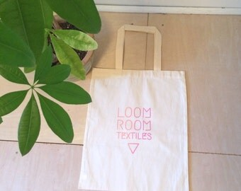 Loom Room Textiles Tote Bag - Sherbet Gradient