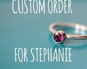 CUSTOM ORDER Balance For Stephanie.
