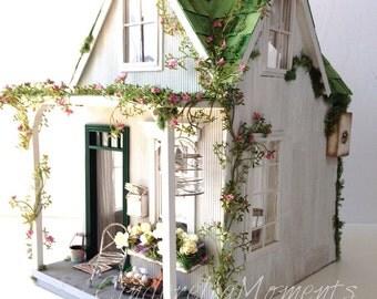 Josephine Shabby Chic Cottage Custom Dollhouse