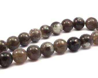 Full Strand Topaz 14mm Round Gemstone Beads T19