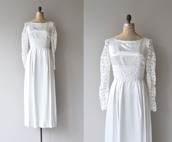 Sale lauroska wedding gown vintage 1970s wedding dress for 1970s wedding dresses for sale