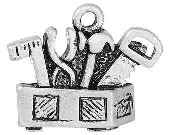 Tool Box Charm - Set of 2 - #MH222