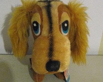 Vintage Plush Dog - The Archies - Holiday Fair - Too Cute!