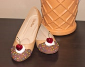 Ice Cream Flats, Ice Cream Shoes, Pastel Goth