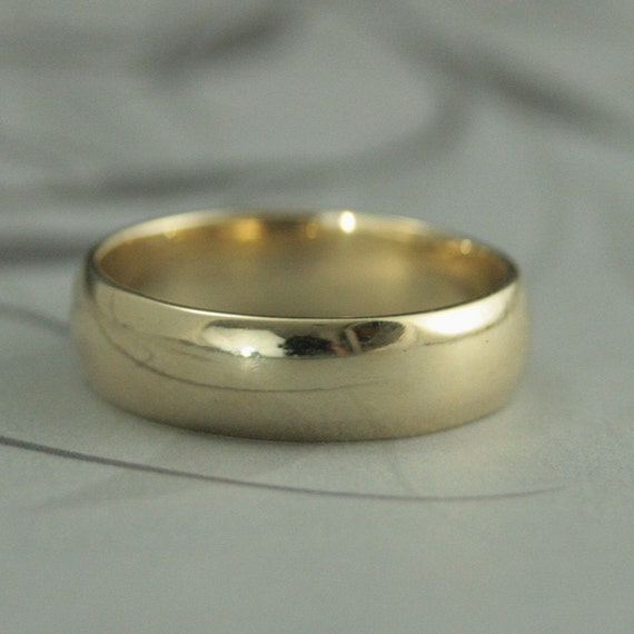 s gold wedding bandsolid 10k gold wedding ring6mm
