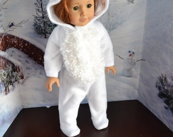 18 inch Doll Clothes - Bunny Sleeper or Costume - MADE TO ORDER - Rabbit - Easter - fits American Girl