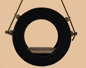 Recycled Tire Swing and 10 feet of  Rope/Free Shipping