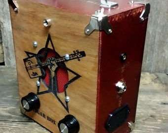 The Cigar Box Nation Amplifier - Special-edition cigar box amplifier with the CBN logo (Product # 52-006-31)
