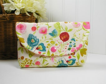 Snap Pouch, Large Snap Pouch, Cosmetic Pouch ... Emmy Grace, Budquette Dayspring