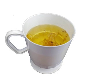 Delicate Honey Scented Soap with Real Marigold, In Tea Cup