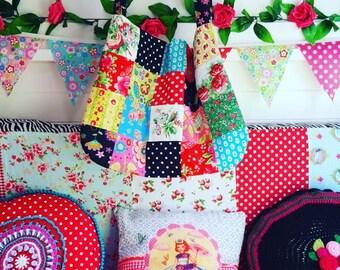 Patchwork bag, Boho, Gypsy Shoulder bag