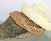 Packable Crocheted Cloche