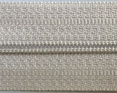 3 Silver Pulls for 5mm coil zipper