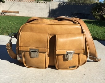Vintage Marsand leather train case