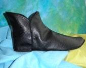 Medieval Dress Boot for Shakespeare Custom Made to Measure NBV1 Castile Black