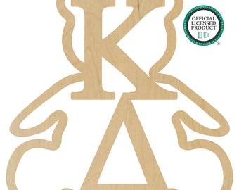 Kappa Delta Bear Wall Hanger - Kappa Delta Door Hanger