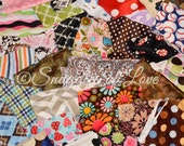 SALE - Printed Minky Destash - Minky Print Fabrics - Plush Minky Fabrics - Printed Minky Scraps - Choose Your Size Box